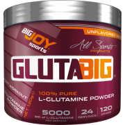 Big Joy Gluta Big % 100 Glutamine Powder 120 Gr Aromasız