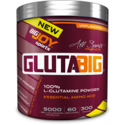 Big Joy Gluta Big % 100 Glutamine Powder 300 Gr Aromasız