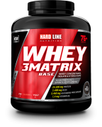 Hardline Whey 3Matrix Base 2300gr