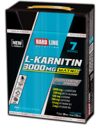 Hardline L-Karnitin Matrix 3000 Mg 7 Ad.