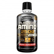 Muscletech Essential Series Platinum Amino 2500 960 ML  Kırmızı Meyveler