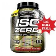 Muscletech Iso Zero % 100 Whey Protein Isolate Çilek