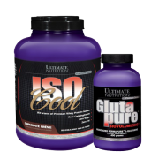 Ultimate Iso Cool Protein 2270 Gr Glutapure 400gr