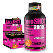 Zero Shot 60 ML 3000Mg L-Carnitine Şeftali